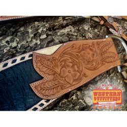 Black Bart Headstall and Tripping Collar Set
