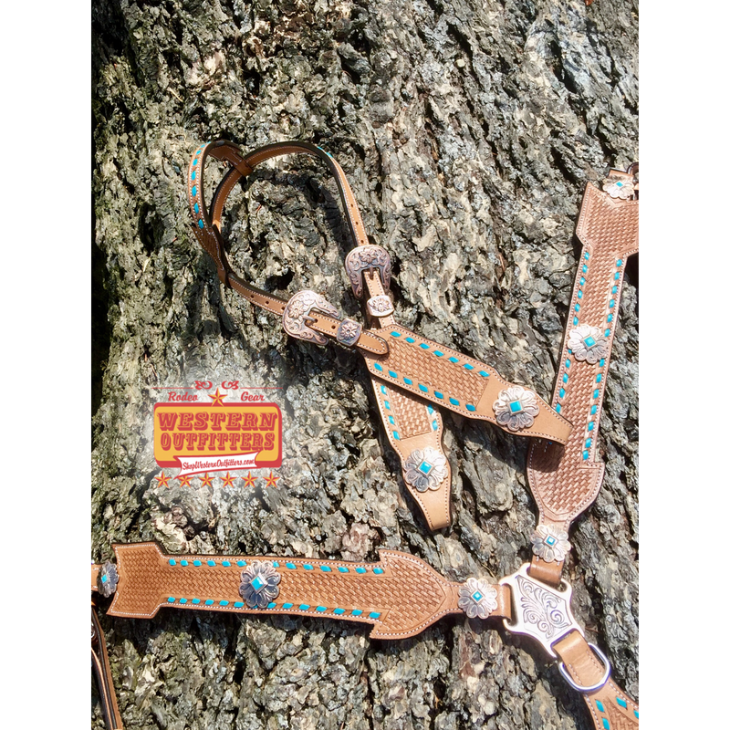 Follow Your Arrow Headstall and Breast Collar Set