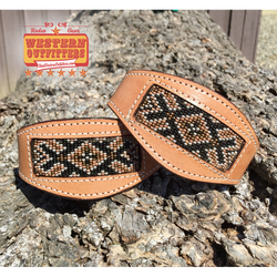 Tombstone Beaded Hobble Straps
