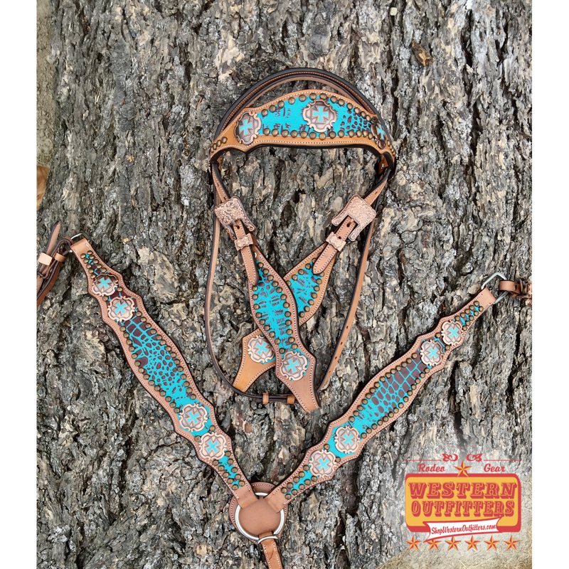McClintock Headstall and Breast Collar Set