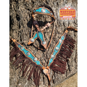 McClintock Headstall and Fringe Breast Collar Set