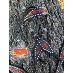 Butch Cassidy Headstall and Breast Collar Set