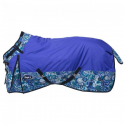 Tough-1 1200D Waterproof Poly Snuggit Turnout Blanket in Paisley Shimmer Prin