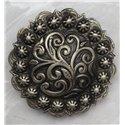 Custom Floral Tooled Bronc Halter