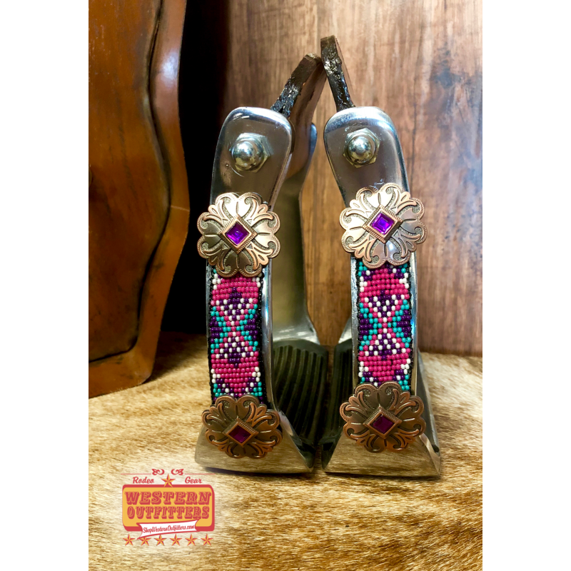 Yuma Beaded Stirrups