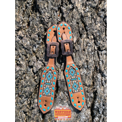 Sedona Beaded Spur Straps