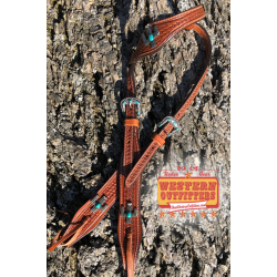 Southwest Cactus Headstall