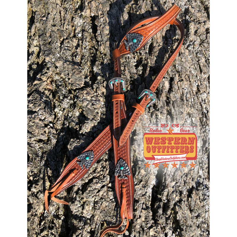 Southwest Arrowhead Headstall