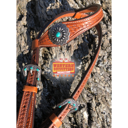 Southwest Turquoise Headstall