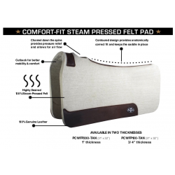 Professional's Choice Comfort-Fit Steam Pressed Felt Pad