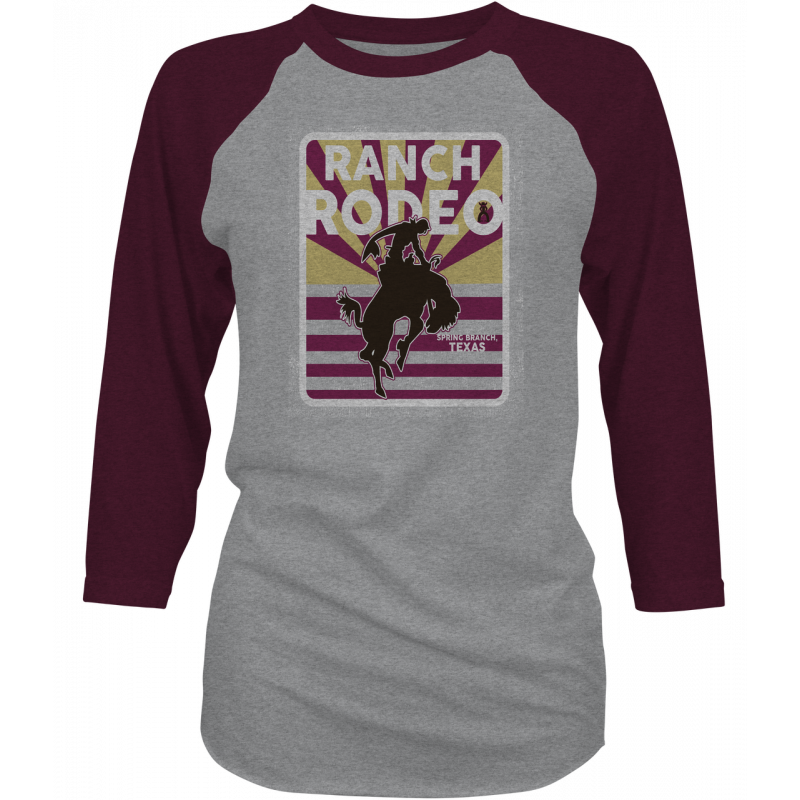 "Hooey ""Ranch Rodeo"" Ladies  Baseball  Tee"