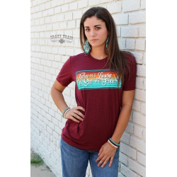 "Crazy Train ""Turquoise & Tequila"" T-Shirt"