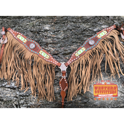 Saguaro Fringe Breast Collar