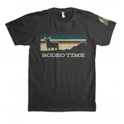 "Dale Brisby ""Rodeo Time"" Sunset Men's T-Shirt"