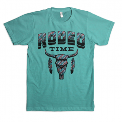 "Dale Brisby ""Rodeo Time"" Aztec Men's T-Shirt"