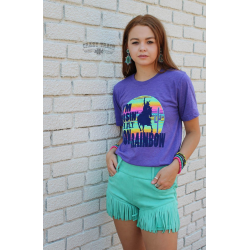 "Crazy Train ""Neon Rainbow"" T-Shirt"