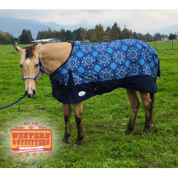 1200 Denier Aztec Circle Ripstop Waterproof Rain Sheet