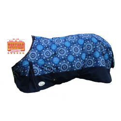 1200 Denier Aztec Circle Pony/Foal Size Ripstop Waterproof Winter Blanket