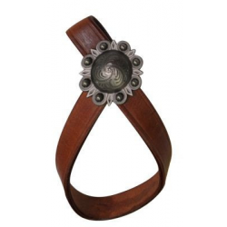 Leather Tie Down Keeper