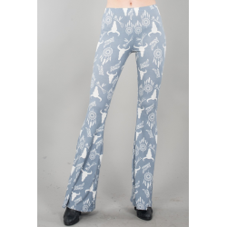 Cow skull Dream catcher Pants