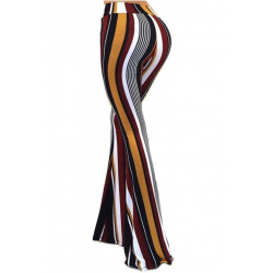 """The Sonny"" Striped Bell Bottom Pants"
