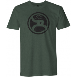 "Hooey ""Roughy 2.0"" Olive men's T-Shirt"