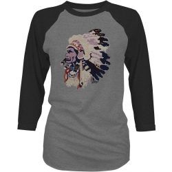 "Hooey ""Chief"" Ladies  Baseball  Tee"