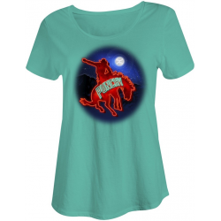 "Hooey ""Monlight Rides"" Ladies T-Shirt"