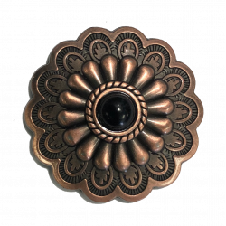 Antique Bronze Sunburst...