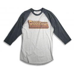 Gold Rodeo Time 3/4 Sleeve Baseball T