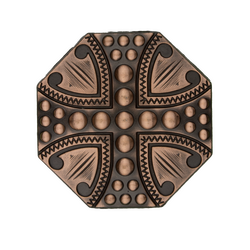 Copper Spot Cross Concho