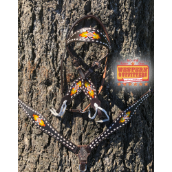 Flagstaff Beaded Headstall...