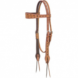 Branson Buckstitch Browband...