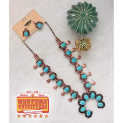 Copper and turquoise squash...