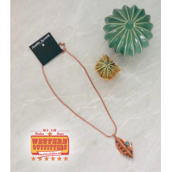Copper Aztec Necklace