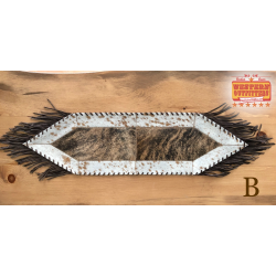 Small Cowhide Table Runner