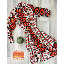 Aztec Long sleeve Duster