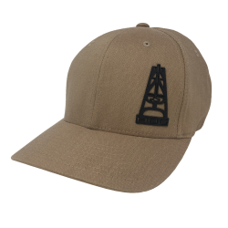 Hooey Oil Gear Flexfit cap