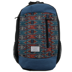 Blue and Red Aztec Hooey...