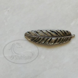 Antique Silver Feather Concho