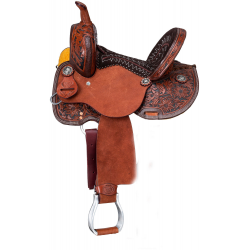 Hawley Youth Barrel Saddle:...