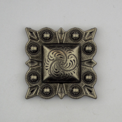 Antique Silver Square Berry...