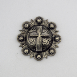 Antique Silver Cross Berry...