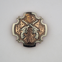 Copper Cross Gun Conchos