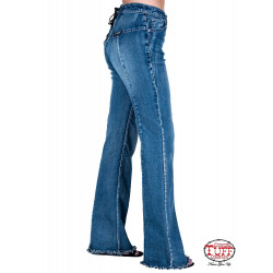 Cowgirl Tuff Tie It Up Jeans