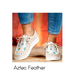 Canvas Lace Up Sneaker:...