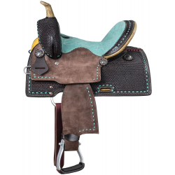 Bryson Youth Barrel Saddle 10""