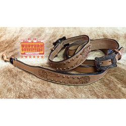 Rifleman Dog Collar and Matching Leash