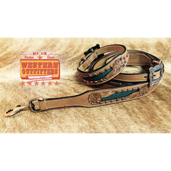 Annie Oakley Dog Collar and Matching Leash