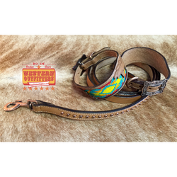Ruidoso Dog Collar and Matching Leash